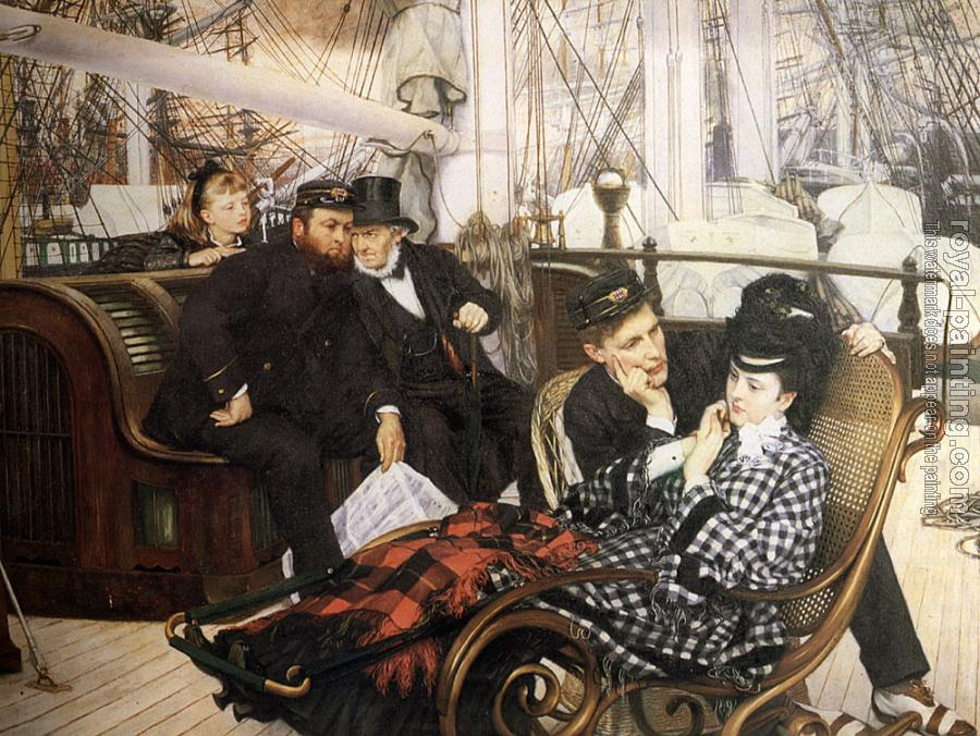 James Tissot : The Last Evening II