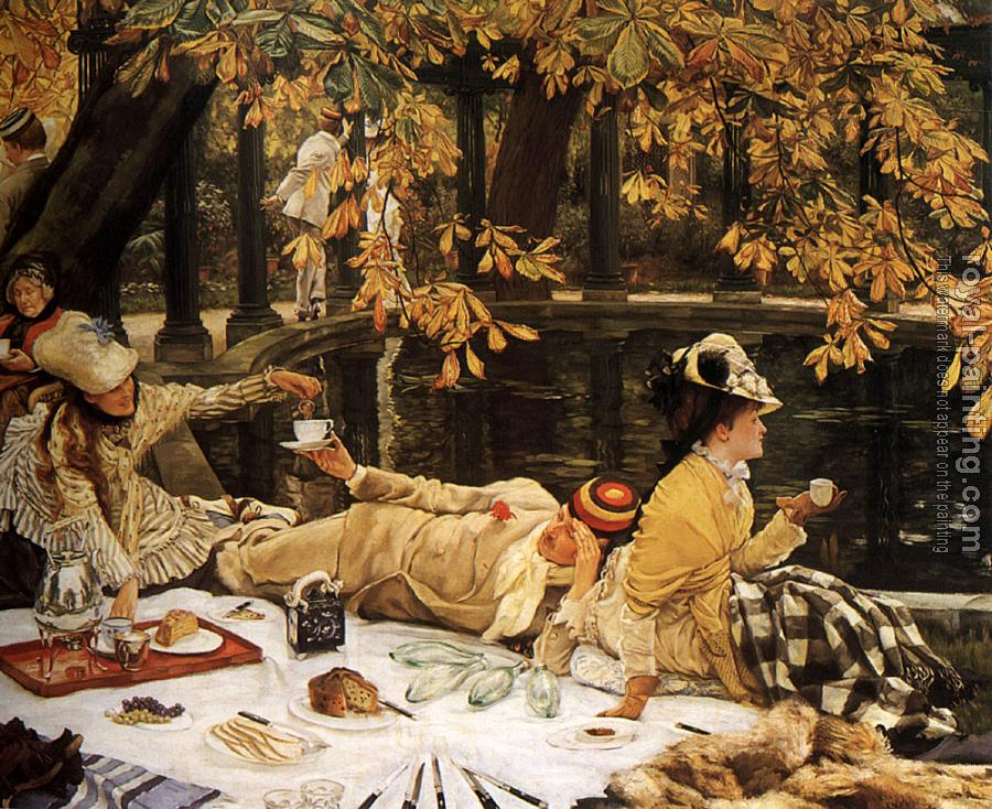 James Tissot : The Picnic
