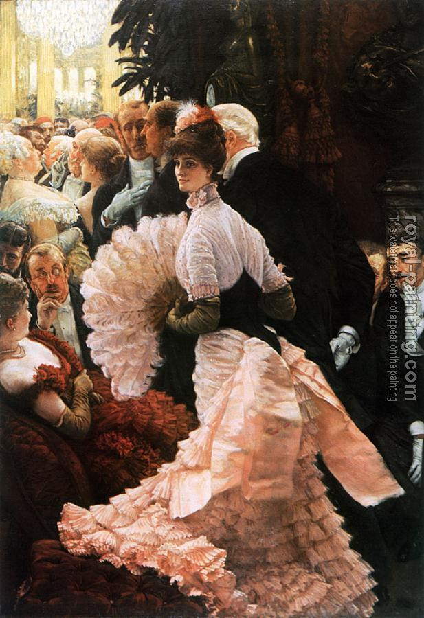 James Tissot : The Political Lady