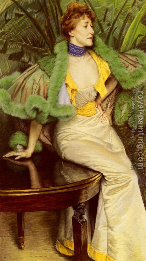 James Tissot : The Princesse De Broglie