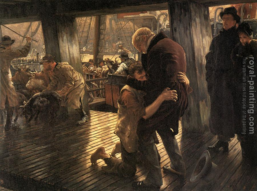 James Tissot : The Prodigal Son The Return