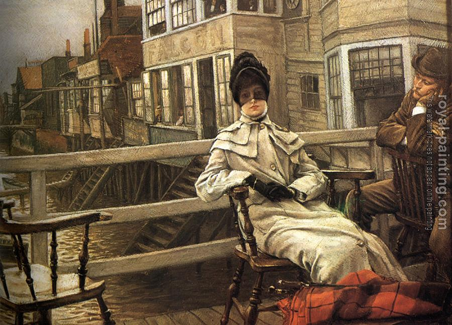 James Tissot : Waiting for the Ferry III