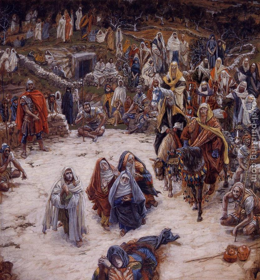 James Tissot : What Our Saviour Saw from the Cross