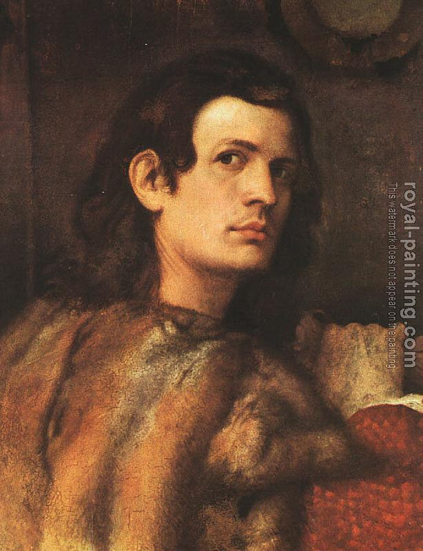 Titian : Portrait of a Man