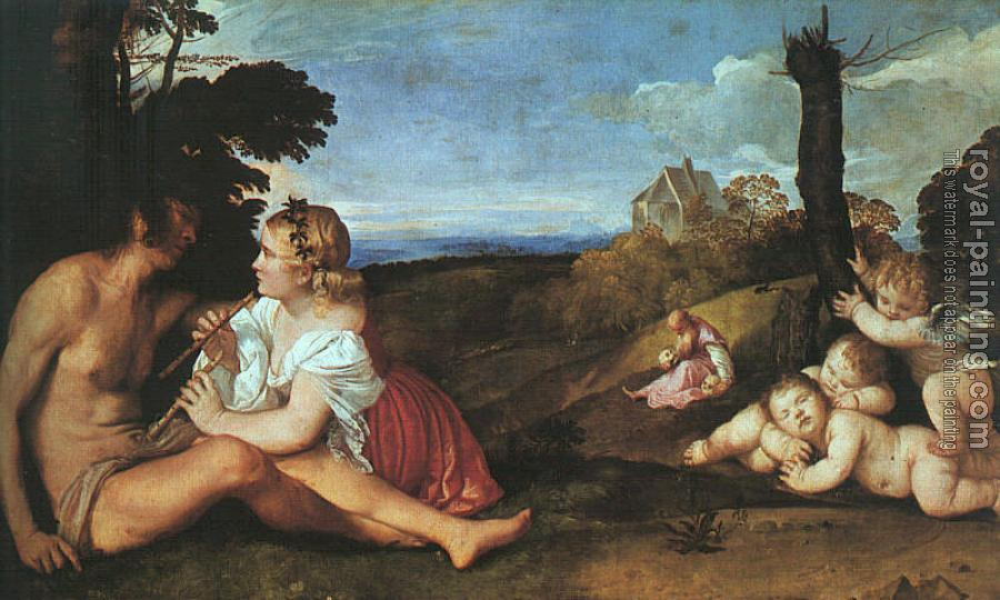 Titian : The Three Ages of Man,
