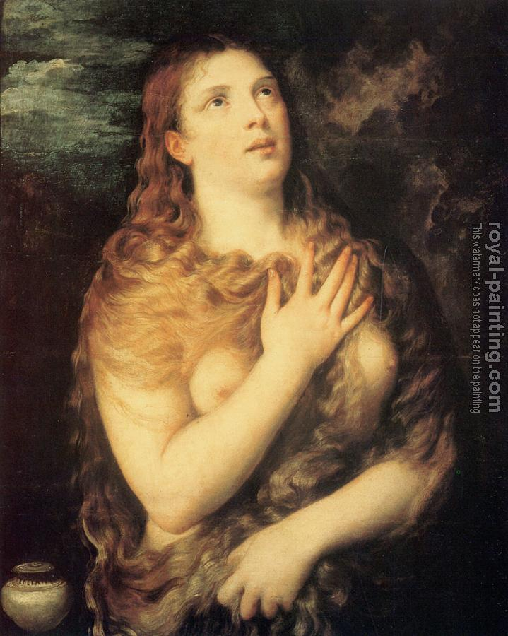 Titian : Mary Magdalene