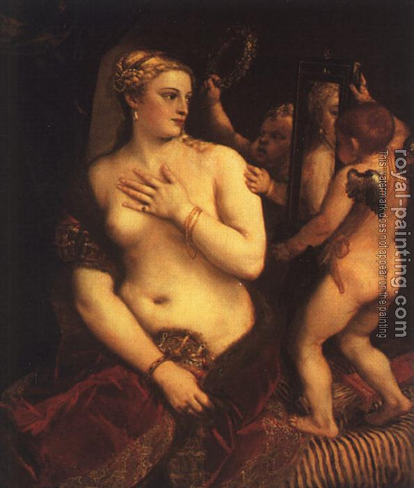 Titian : Venus with a Mirror