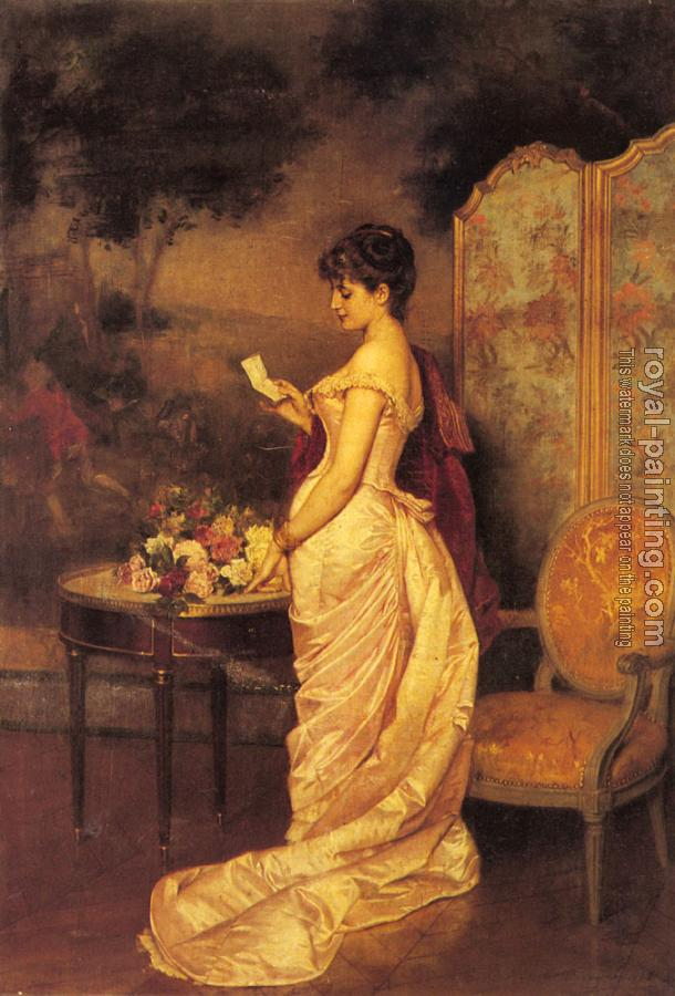 Auguste Toulmouche : The Love Letter II