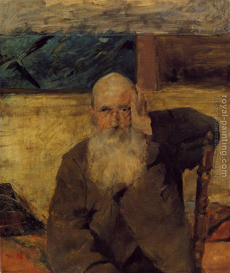 Henri De Toulouse-Lautrec : Old Man at Celeyran