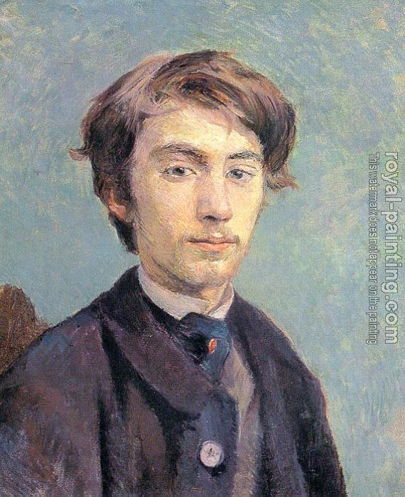 Henri De Toulouse-Lautrec : Portrait of the Artist Emile Bernard