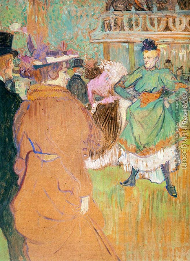 Henri De Toulouse-Lautrec : The Beginning of the Quadrille at the Moulin Rouge