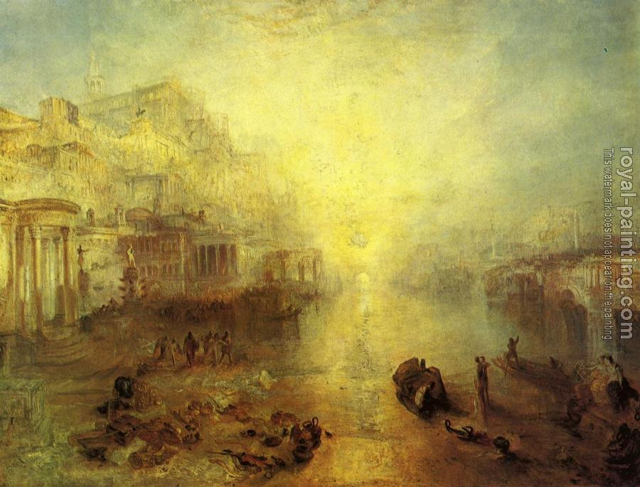 Joseph Mallord William Turner : Ancient Italy,Ovid Banished from Rome