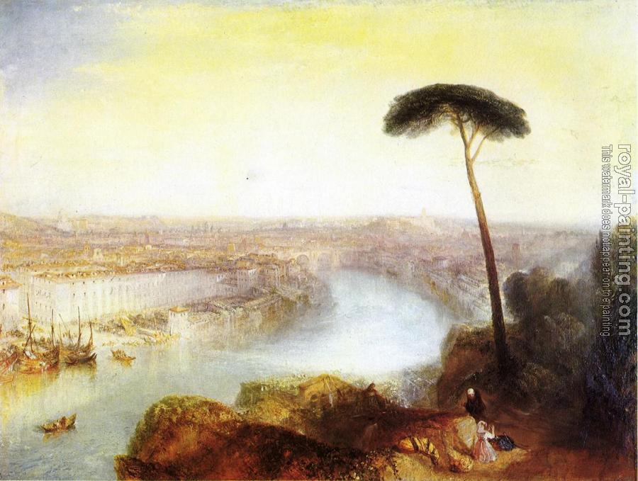Joseph Mallord William Turner : Rome from Mount Aventine