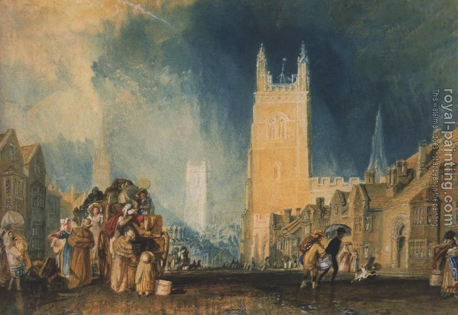 Joseph Mallord William Turner : Stamford, Lincolnshire