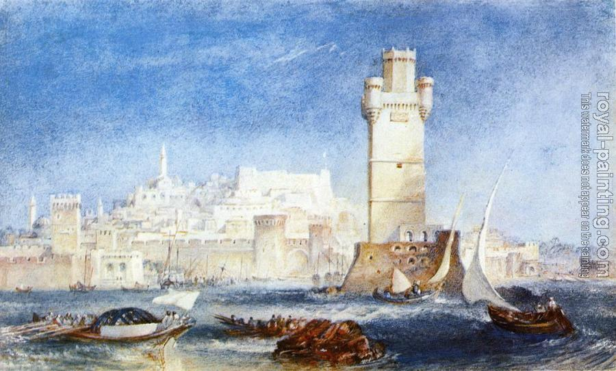 Joseph Mallord William Turner : Rhodes,for Lord Byron's Works