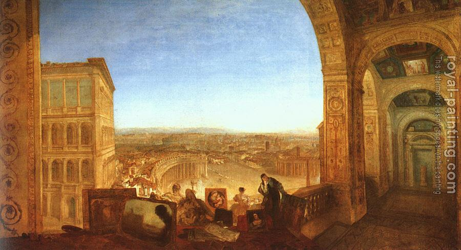 Joseph Mallord William Turner : Rome from the Vatican