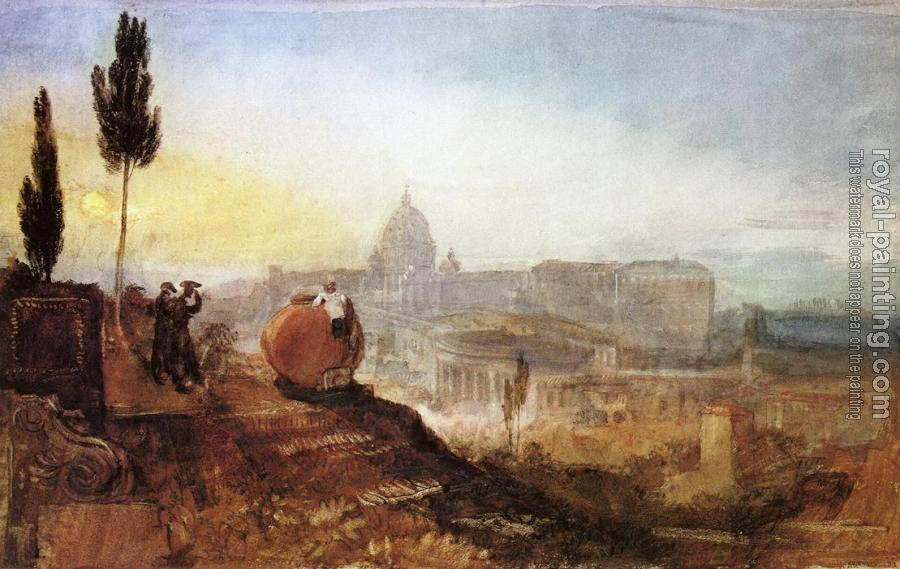 Joseph Mallord William Turner : St. Peter's from the south