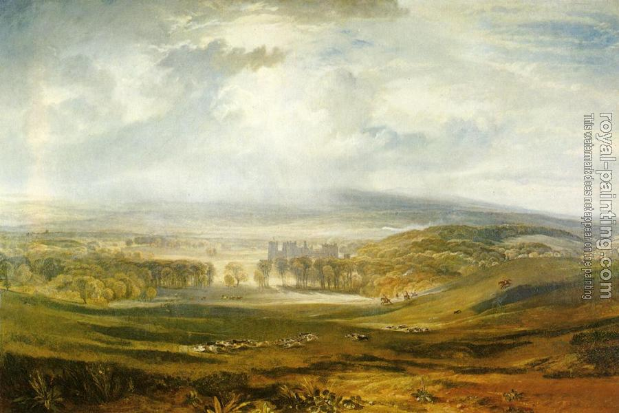 Joseph Mallord William Turner : Raby Castle, the Seat of the Earl of Darlington