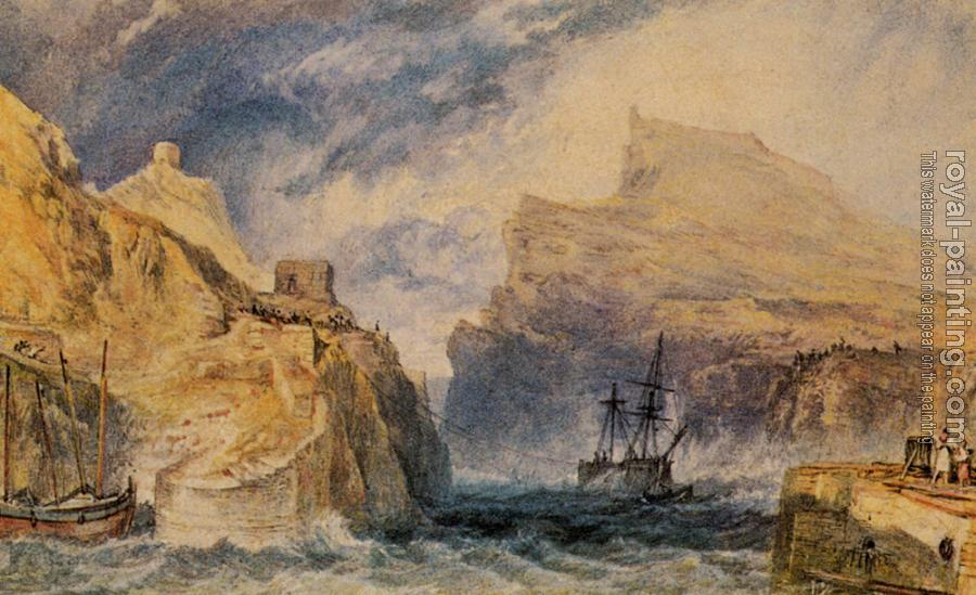 Joseph Mallord William Turner : Boscastle, Cornwall