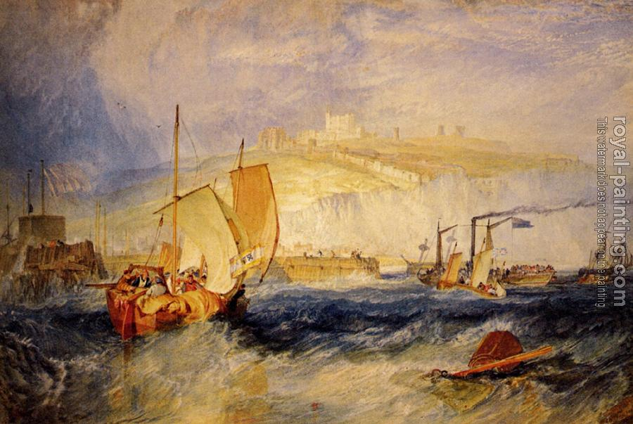 Joseph Mallord William Turner : Dover Castle