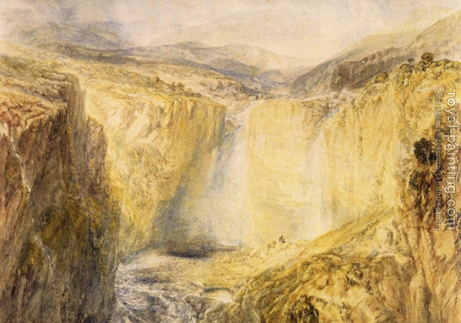 Joseph Mallord William Turner : Fall of the Trees, Yorkshire