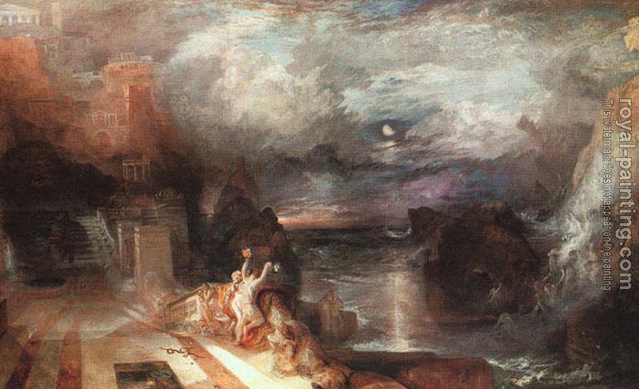Joseph Mallord William Turner : Hero and Leander