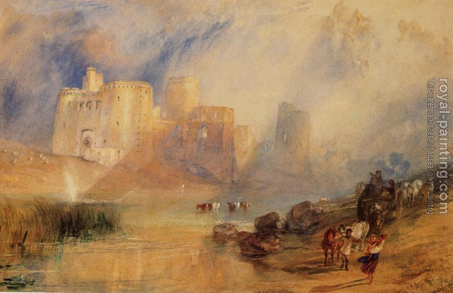 Joseph Mallord William Turner : Kidwelly Castle