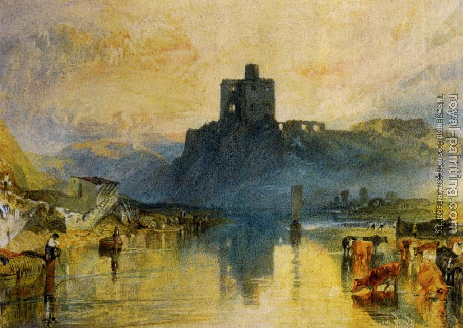Joseph Mallord William Turner : Norham Castle, on the River Tweed
