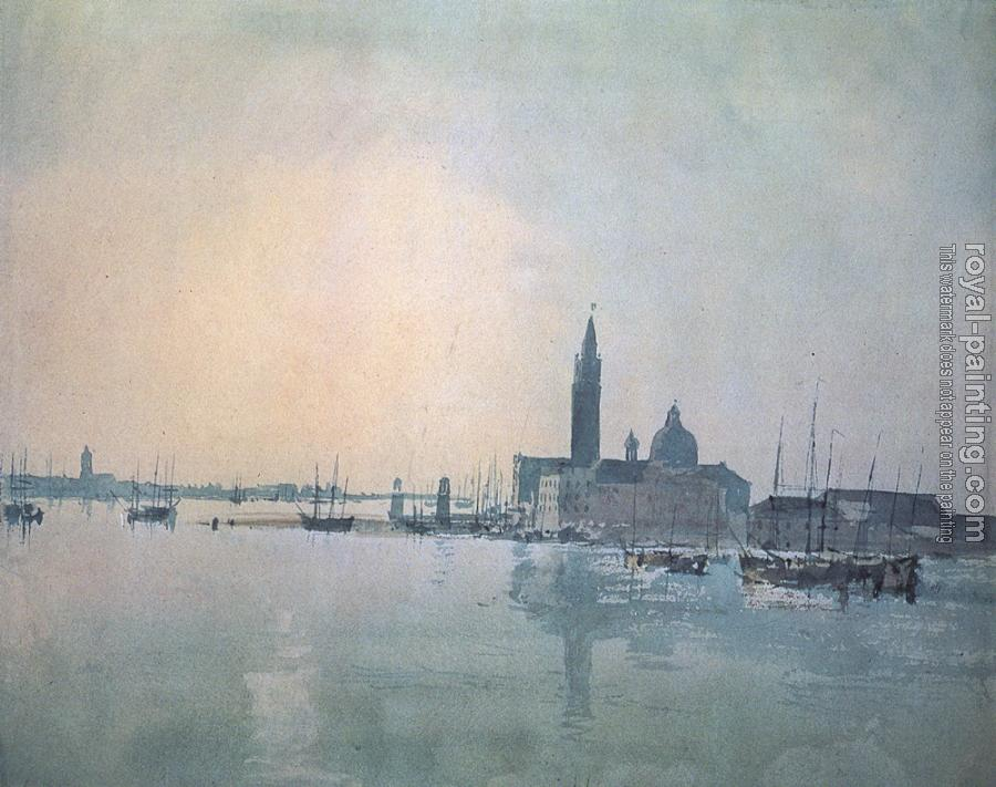 Joseph Mallord William Turner : San Giorgio Maggiore in the Morning