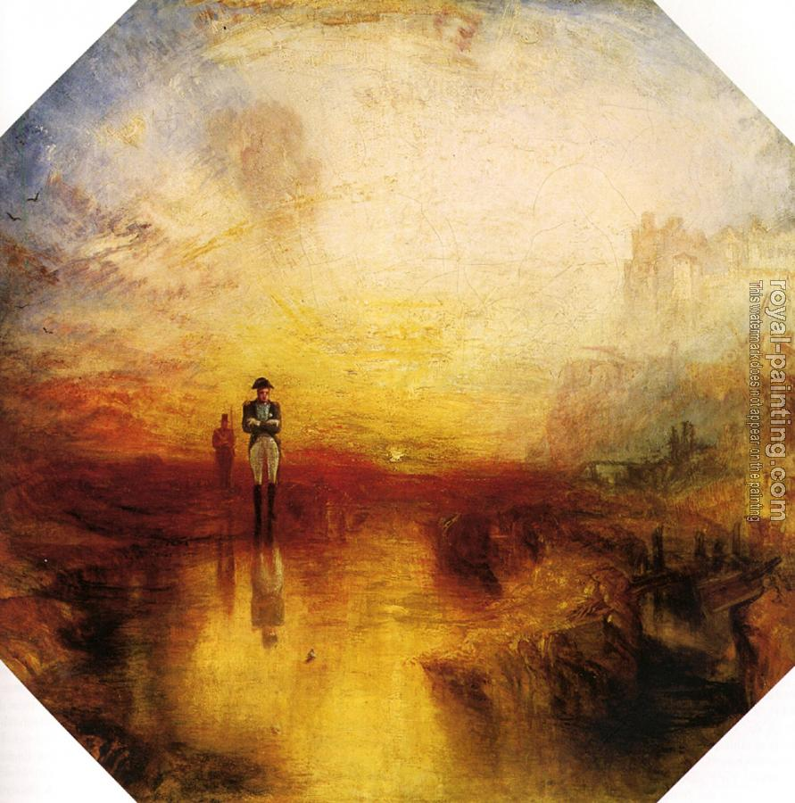 Joseph Mallord William Turner : The Exile and the Snail