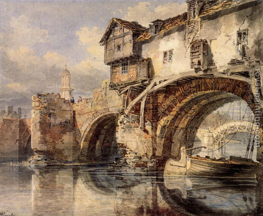 Joseph Mallord William Turner : Welsh Bridge at Shrewsbury
