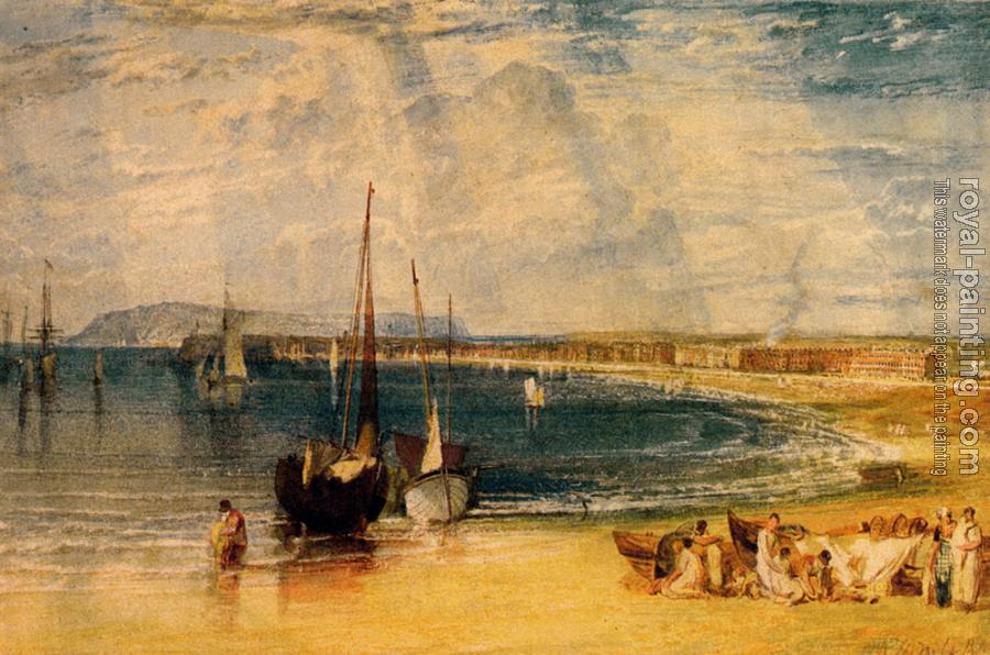 Joseph Mallord William Turner : Weymouth, Dorsetshire