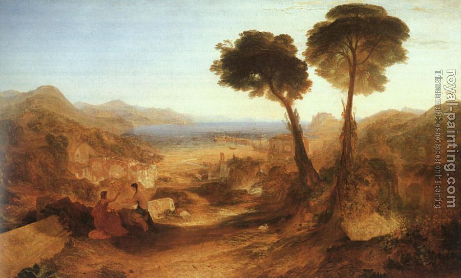 Joseph Mallord William Turner : The Bay of Baiae, with Apollo and the Sibyl