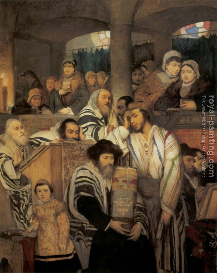 Jewish art by Hand Painted | Oil Painting Reproduction 28392