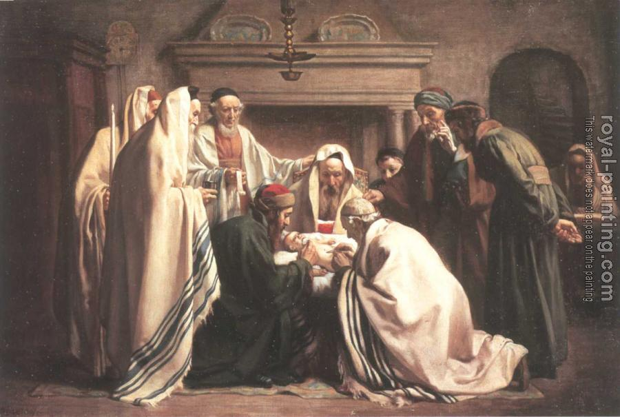 Jewish art by Hand Painted   Oil Painting Reproduction 28399