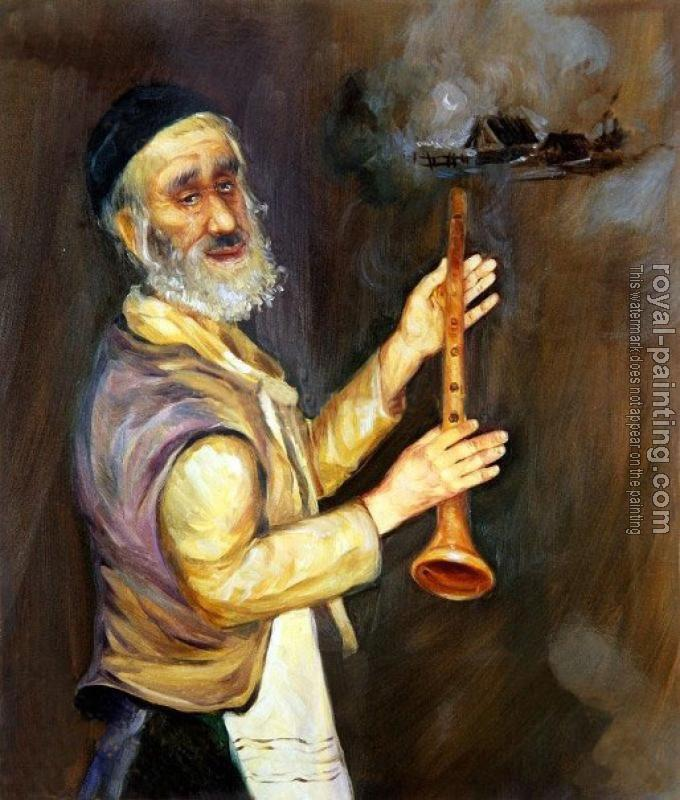 Hand Painted : Jewish art