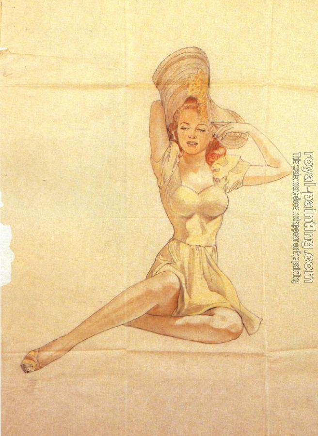 Alberto Vargas : Pin up II