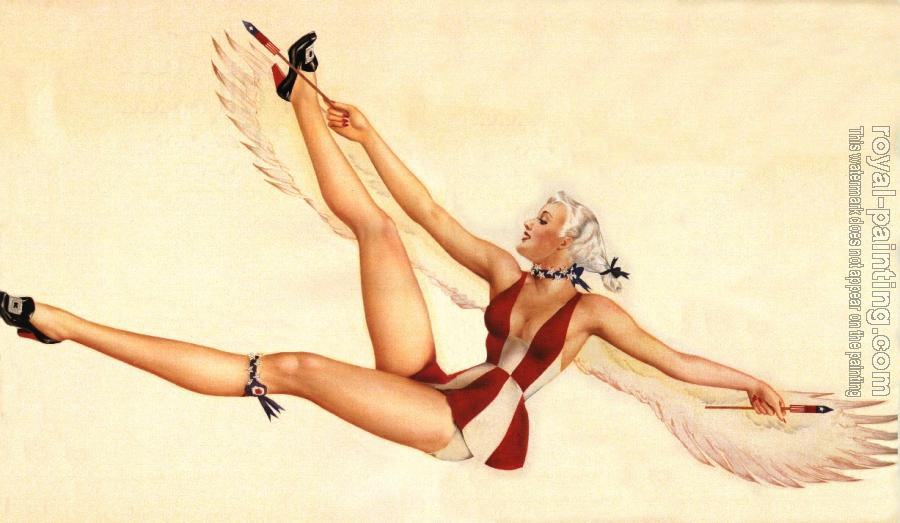 Alberto Vargas : Pin up girl V