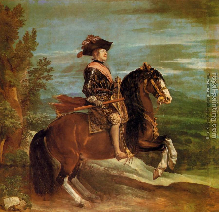 Philip IV on Horseback