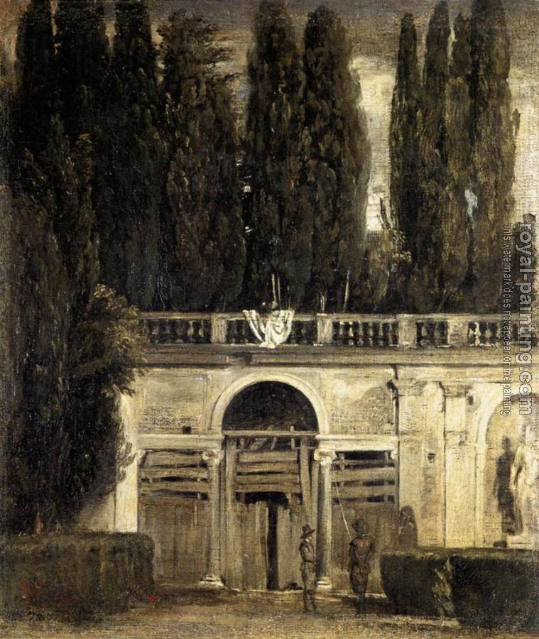 Villa Medici in Rome (Facade of the Grotto Logia)