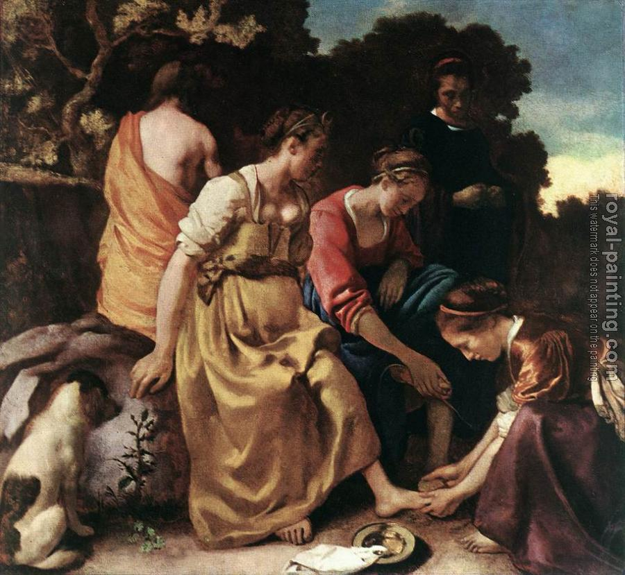 Jan Vermeer : Diana and her Companions