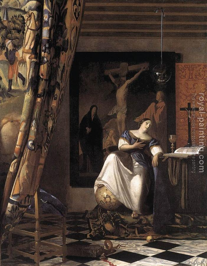 Jan Vermeer : The Allegory of the Faith