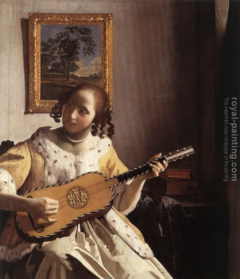 Johannes Vermeer : The Guitar Player