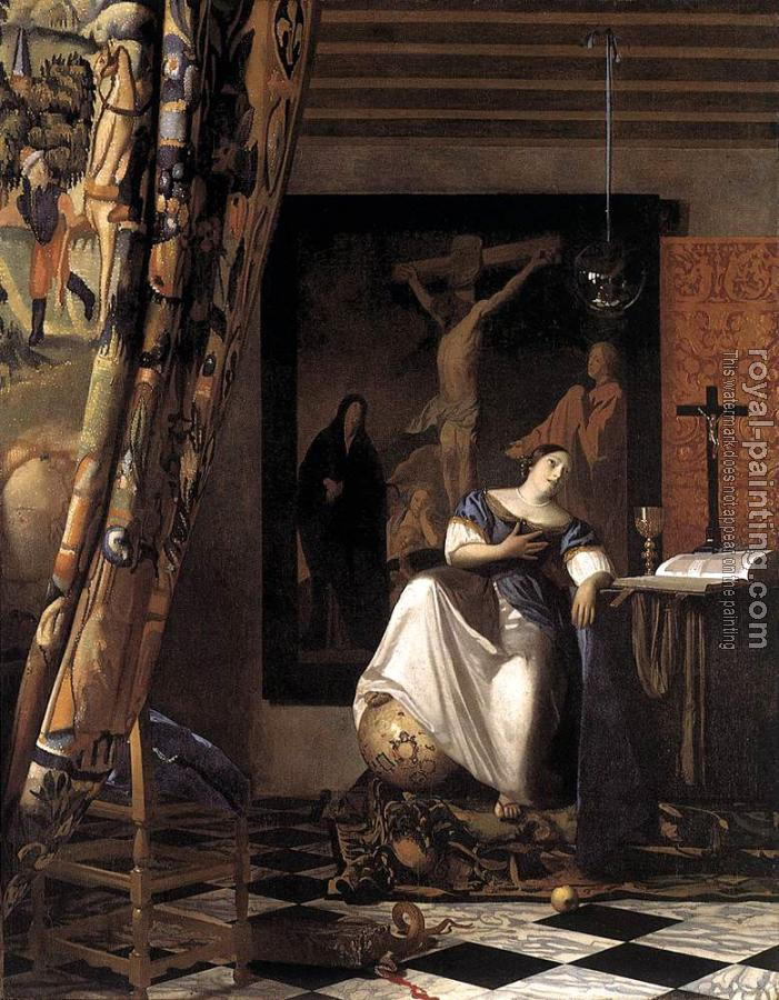 Johannes Vermeer : The Allegory of Faith