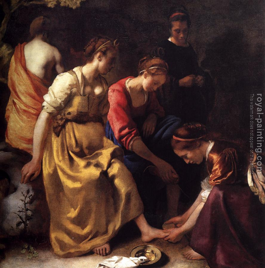 Johannes Vermeer : Diana and her Companions