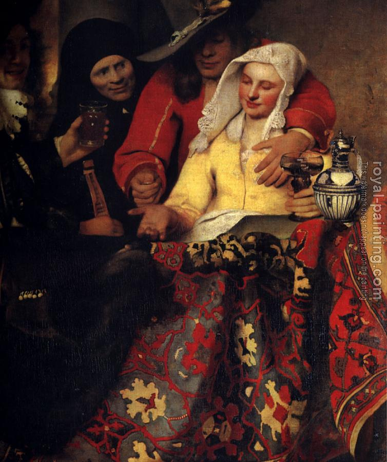 Johannes Vermeer : The Procuress