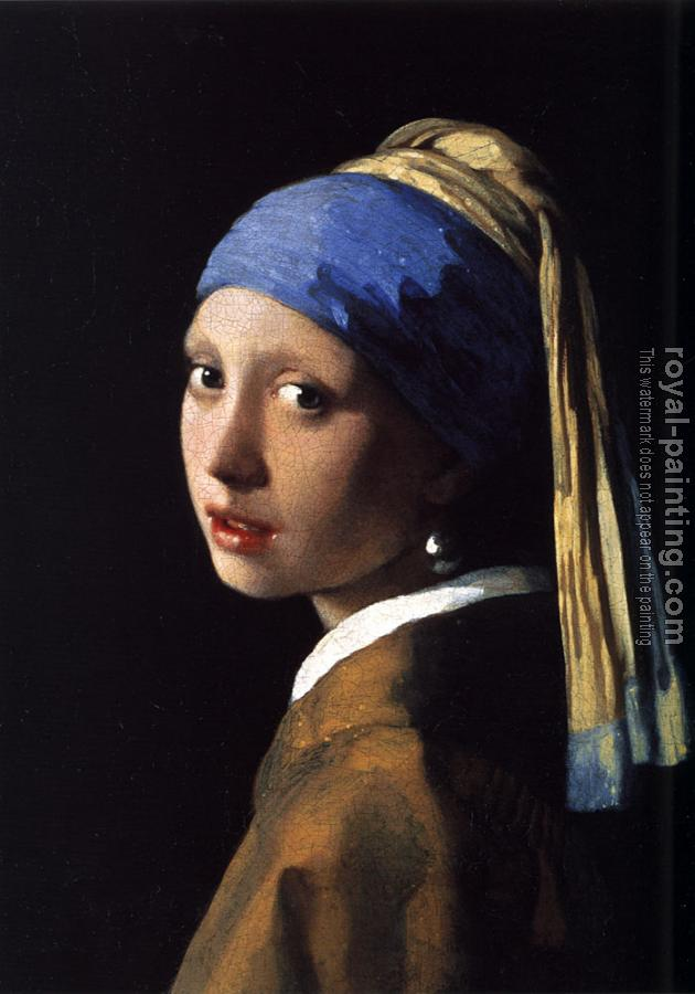 Johannes Vermeer : The Girl with a Pearl Earring