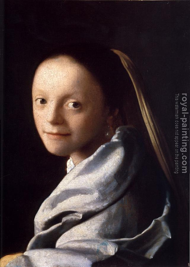 Johannes Vermeer : Study of a young woman