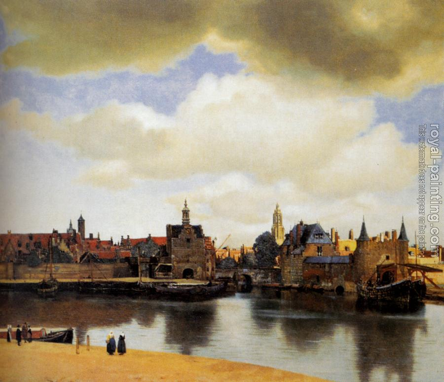 Johannes Vermeer : View on Delft II