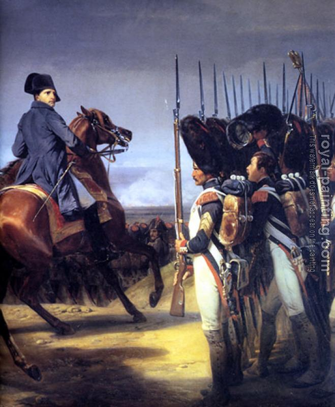 Horace Vernet : Napoleon-imperial-guard